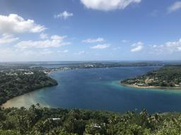 View from the highest point Vava'u.
